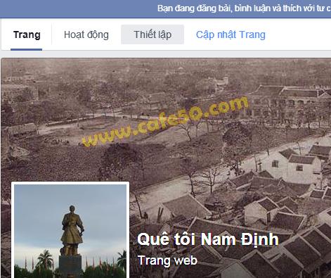 Hướng dẫn cách xóa trang Fan Page Facebook mình đã tạo, thiết lập PAge Facebook