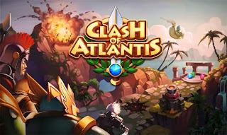 Screenshots of the Clash of Atlantis for Android tablet, phone.