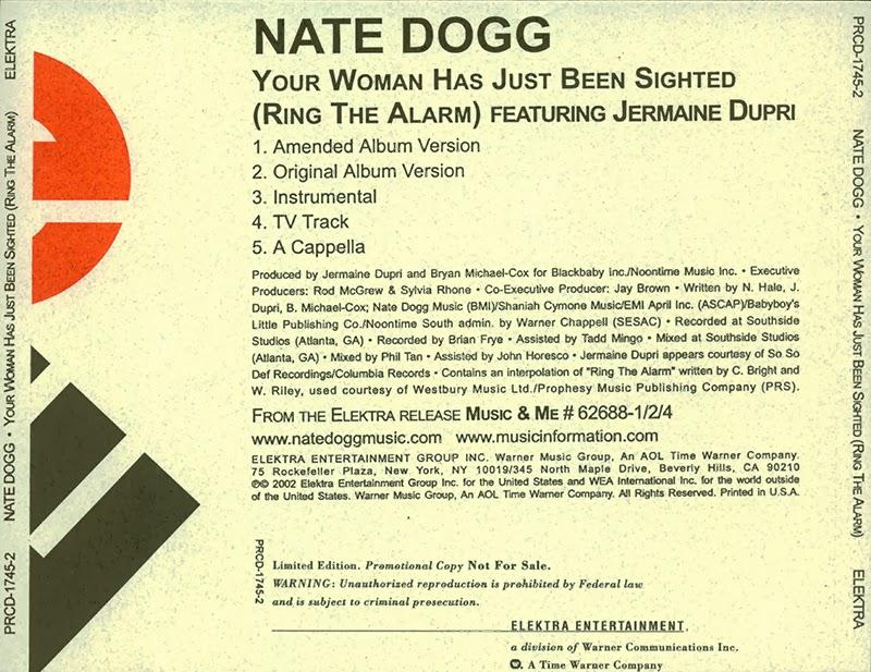Nate Dogg Jermaine Dupri Ring The Alarm