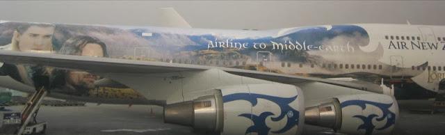 Avião do Senhor dos Anéis - Aviões temáticos para fãs