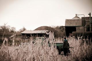 Norfolk farm clay pigeon shoot