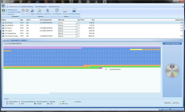 PerfectDisk Professional 14.0