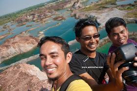 Selfie, wefie, gambar cantik, lombong terbiar, nature, alam semulajadi, pulau pinang, penang, malaysia,