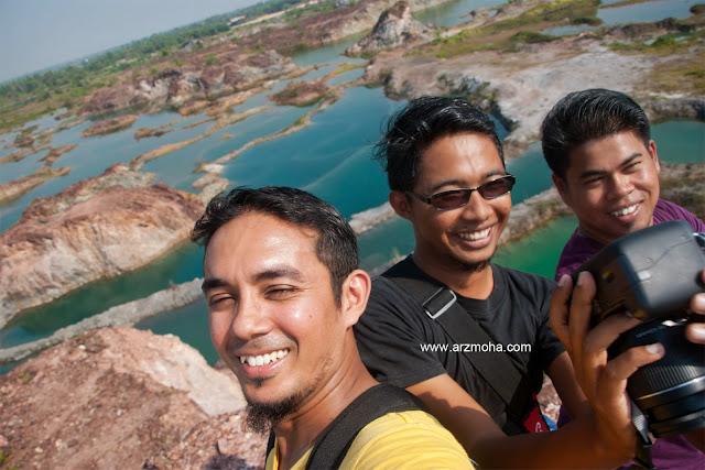 lombong guar petai pulau pinang, lombong guar petai berhantu, lokasi lombong cantik guar petai, tempat cantik pulau pinang,