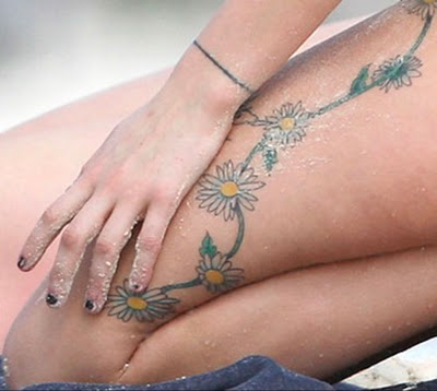 Thigh Tattoos on Thigh Tattoos Gallery For Girl   All Entry Tattoo Design