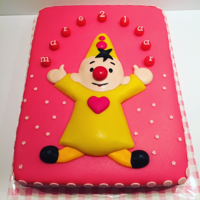 bumba taart roze