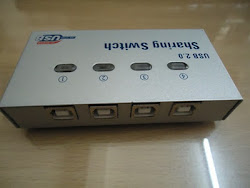 Promo Sharing Switch Printer usb 2.0