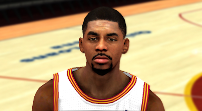 NBA 2K14 Kyrie Irving Cyberface Patch