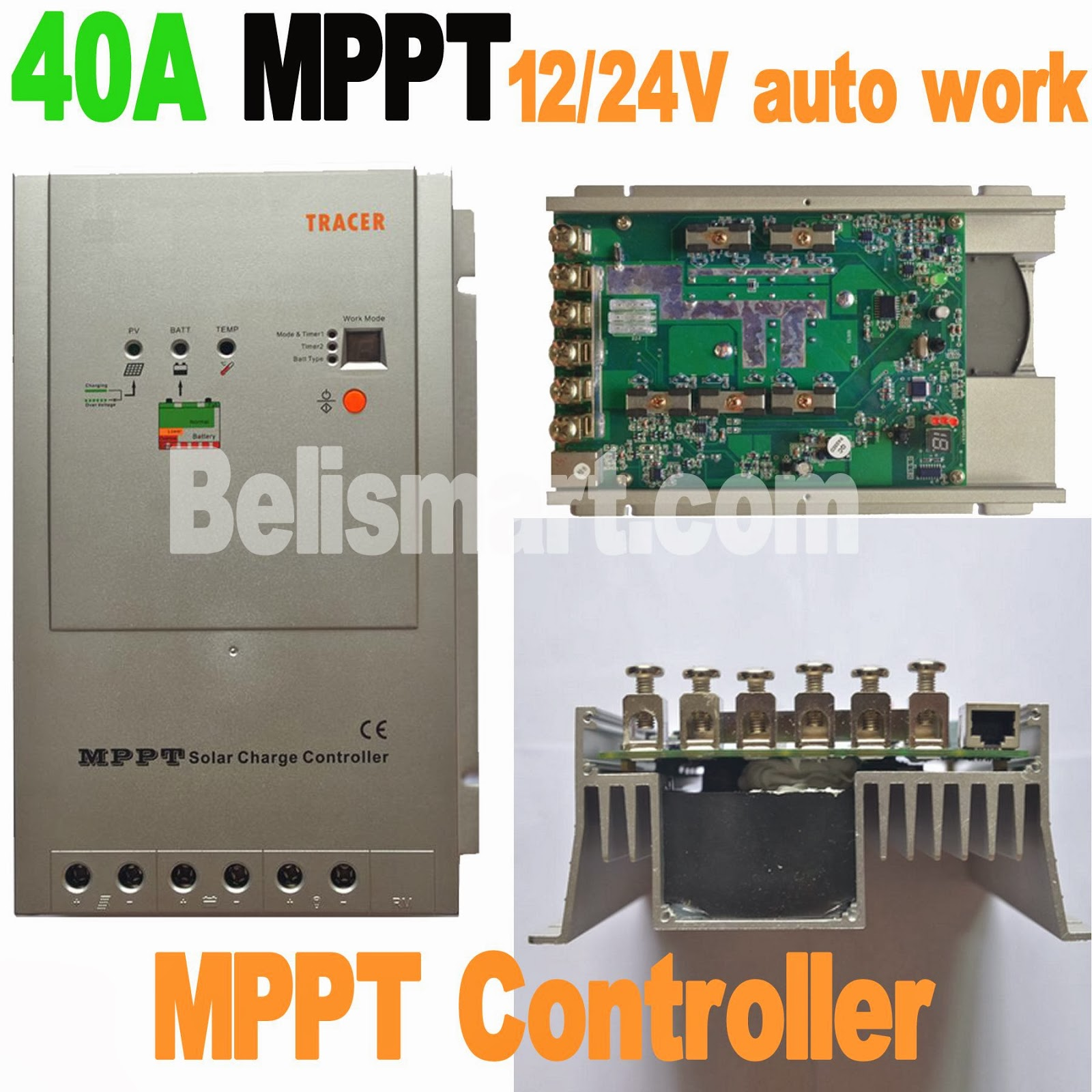 Jawmall Charge Controller Short Circuit Tracer Pv Array Over Discharging Charging Load Overload Reverse Polarity Battery