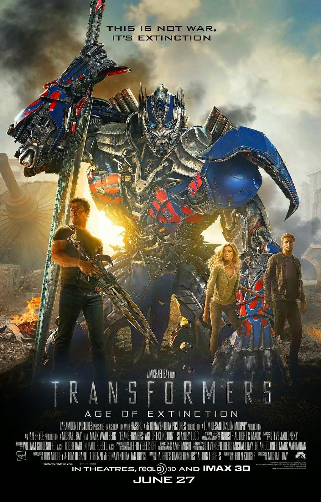 Transformers 4: Age of Extinction มหาวิบัติยุคสุญพันธุ์ พากย์ไทย