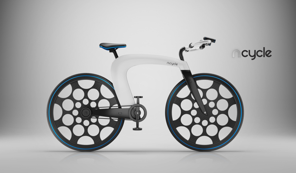 ncycle, nCycle - First Electric Bicycle Concept 2013, awesome bicycle concept, cool design