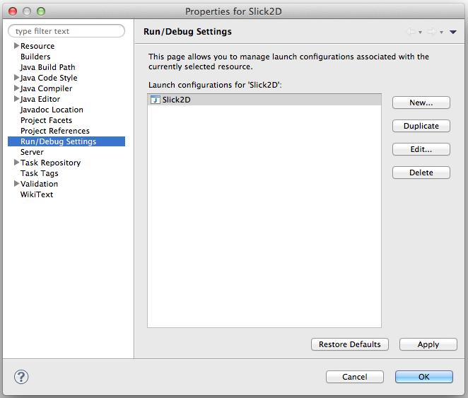Eclipse Google App Engine Tutorial: Configurar Slick2D En Eclipse