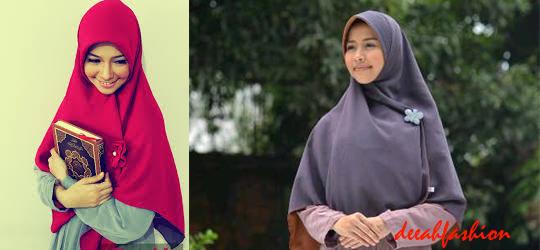 Jilbab Syar'i Gaya Hijab Syari Chic