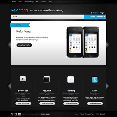 Kelontong Lite WordPress eCommerce Themes