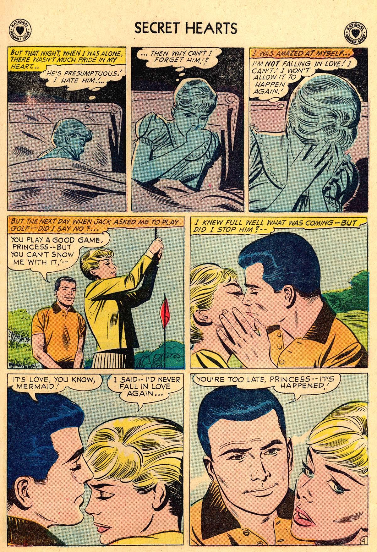 Read online Secret Hearts comic -  Issue #69 - 23