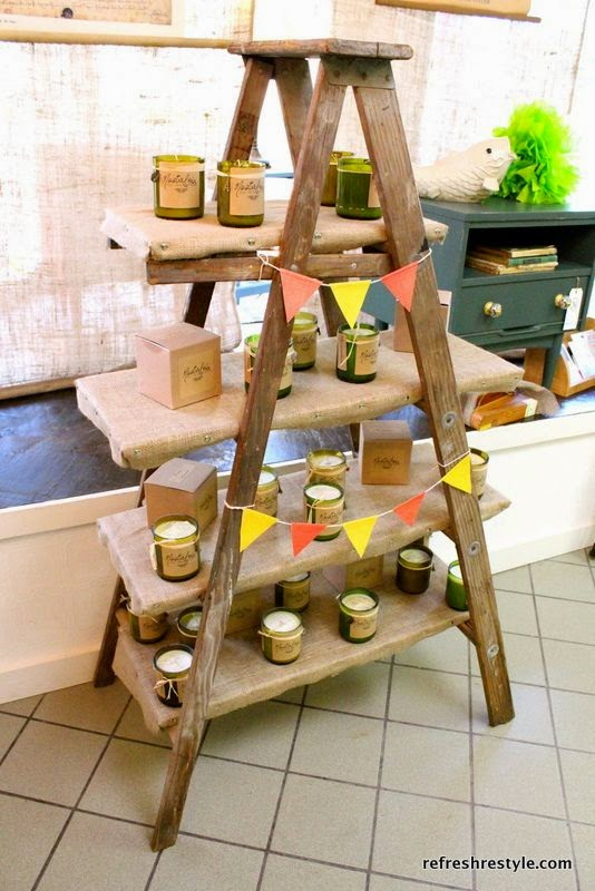5 great craft vendor display ideas three gypsy souls for How to make display shelves for craft show