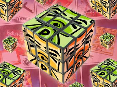 It's a Puzzle Mascot puzzle cube!