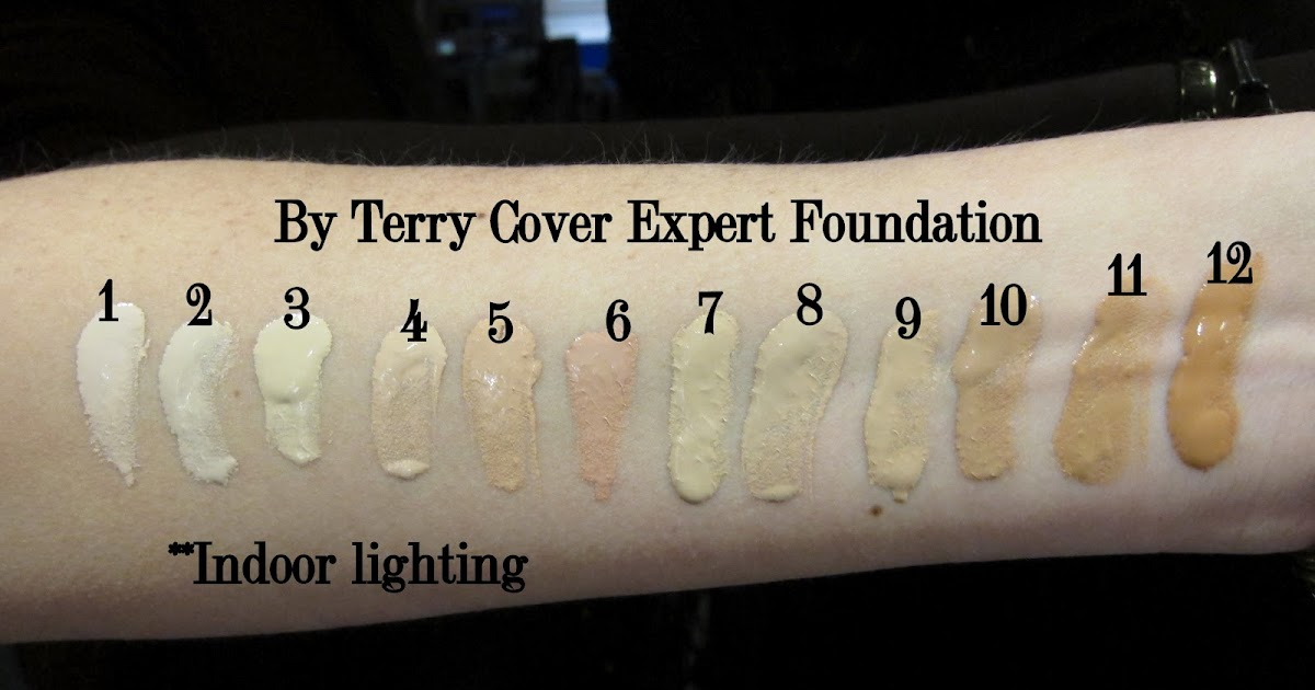 Beauty Professor By Terry Cover Expertswatches Of All Shade Options
