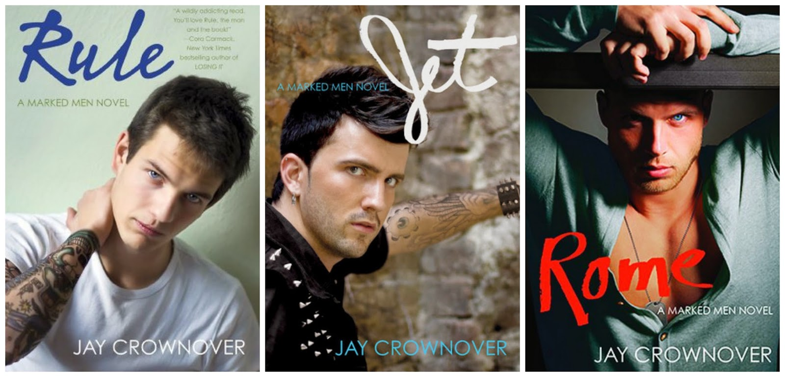 Marked Men series - Jay Crownover