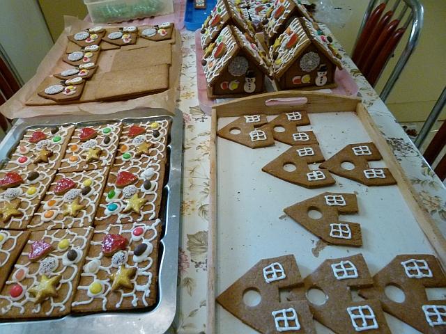 lebkuchen hexenhaus lebkuchenhaus in der weihnachtsb ckerei. Black Bedroom Furniture Sets. Home Design Ideas