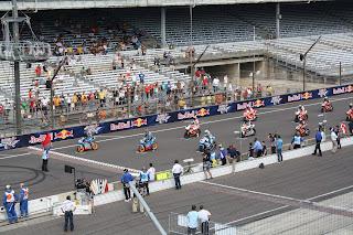 salida de la carrera de moto3 en indianapolis