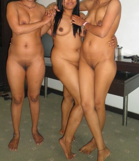 Group of naked desi girls