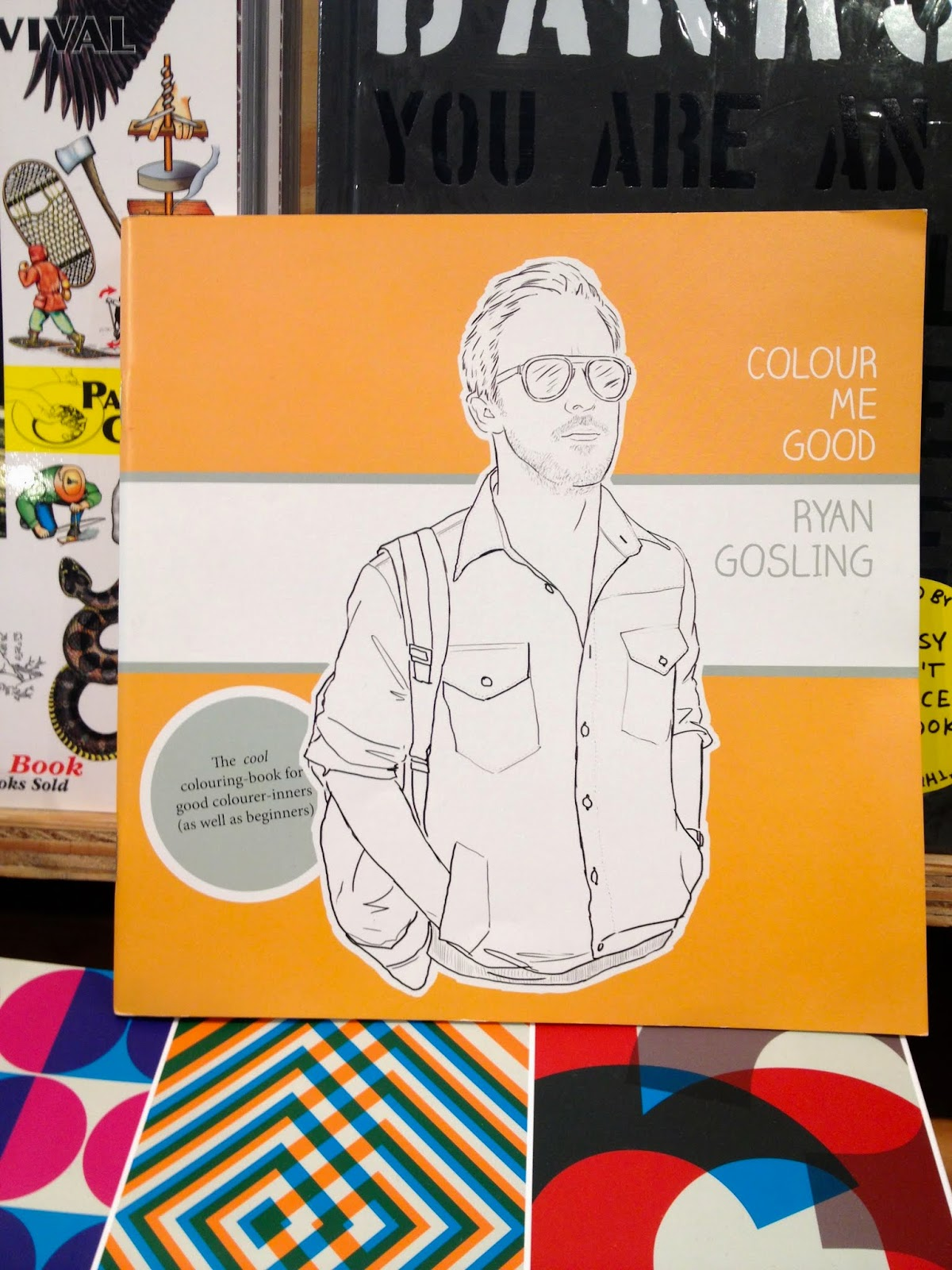 Today 2019s gossip: a ryan gosling colouring book is released