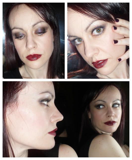 Maquillaje con pigmentos BarryM