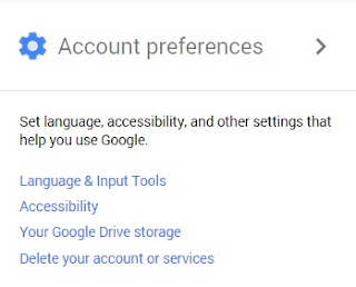 google account language