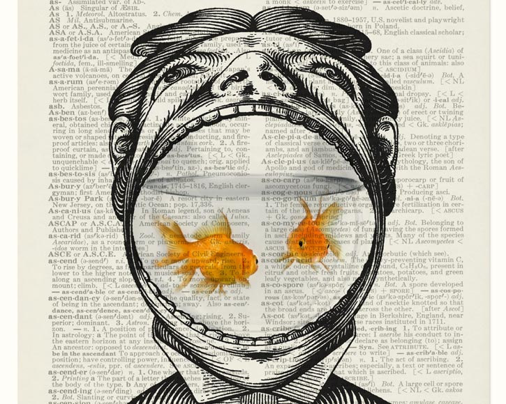 15-Man-and-his-Goldfish-Jean-Cody-Vintage-Dictionary-Page-Art-Prints-www-designstack-co