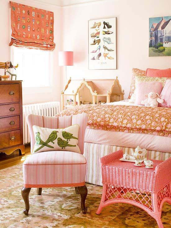 Little Girls Pink Bedroom
