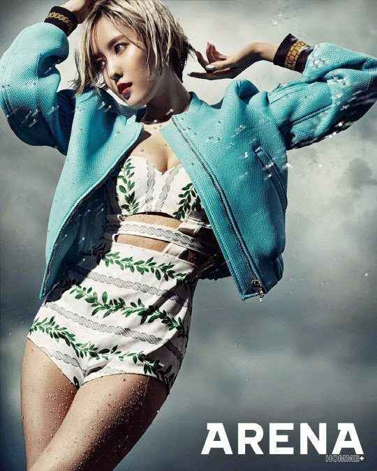 hyomin arena homme+
