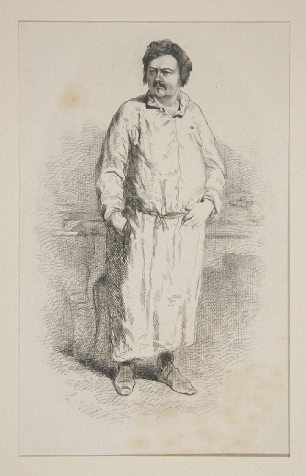 Balzac en robe de moine
