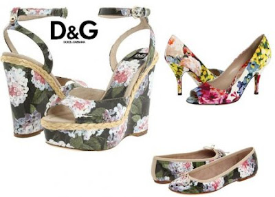 dg shoes floral