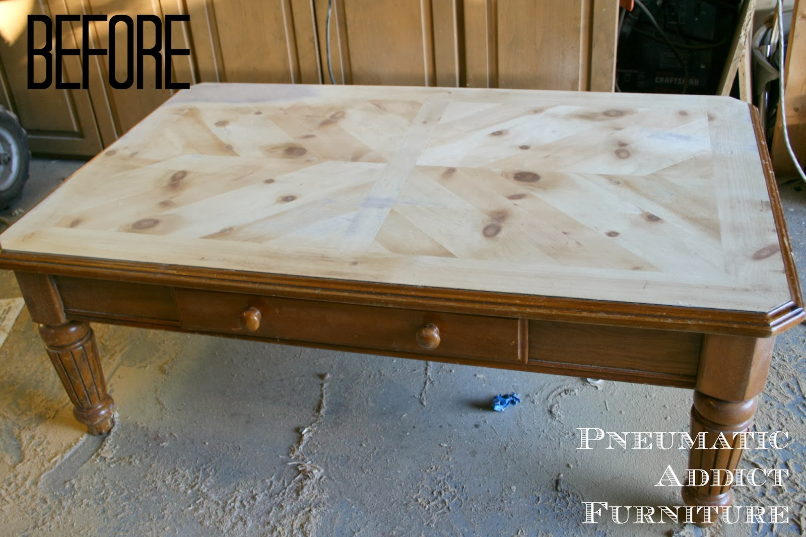 Case In Point This Solid Pine Coffee Table
