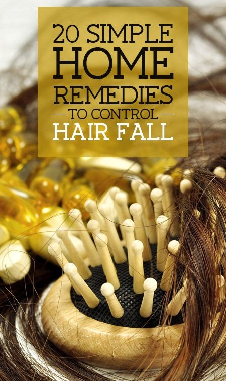 20 Simple Home Remedies & Tips To Control Hair Fall