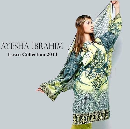 Ayesha Ibrahim Lawn 2014