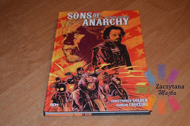 "Recenzja #95 -  Christopher Golden, Damian Couceiro  ""Sons of Anarchy"""