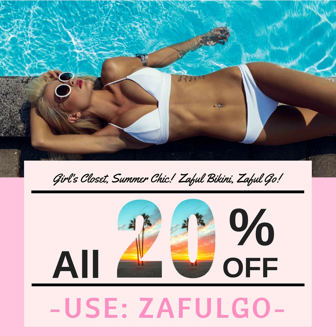 Zaful Bikini, just arrive in time for Women's day!