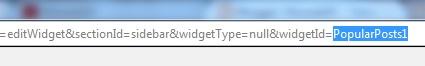 Widget id sebuah gadget