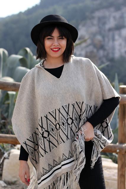 poncho-etnico