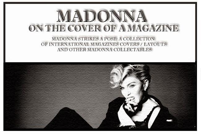 Madonna : On The Cover Of A Magazine OTCOAM rare madonna photos