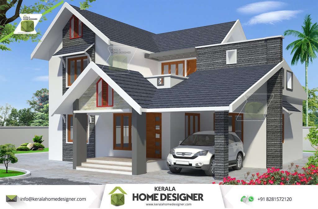 Plans kerala low budget house house design plans for Low cost house plans with photos in kerala