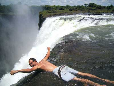 Victoria Falls the Devil's Pool - Zambia - Zimbabwe