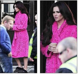 De la moda, lo que te acomoda... Cheryl+Cole+robe+sleepwear