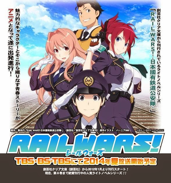 Rail Wars - Anime