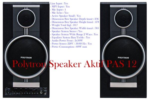 Harga Polytron Speaker Aktif Pas 12