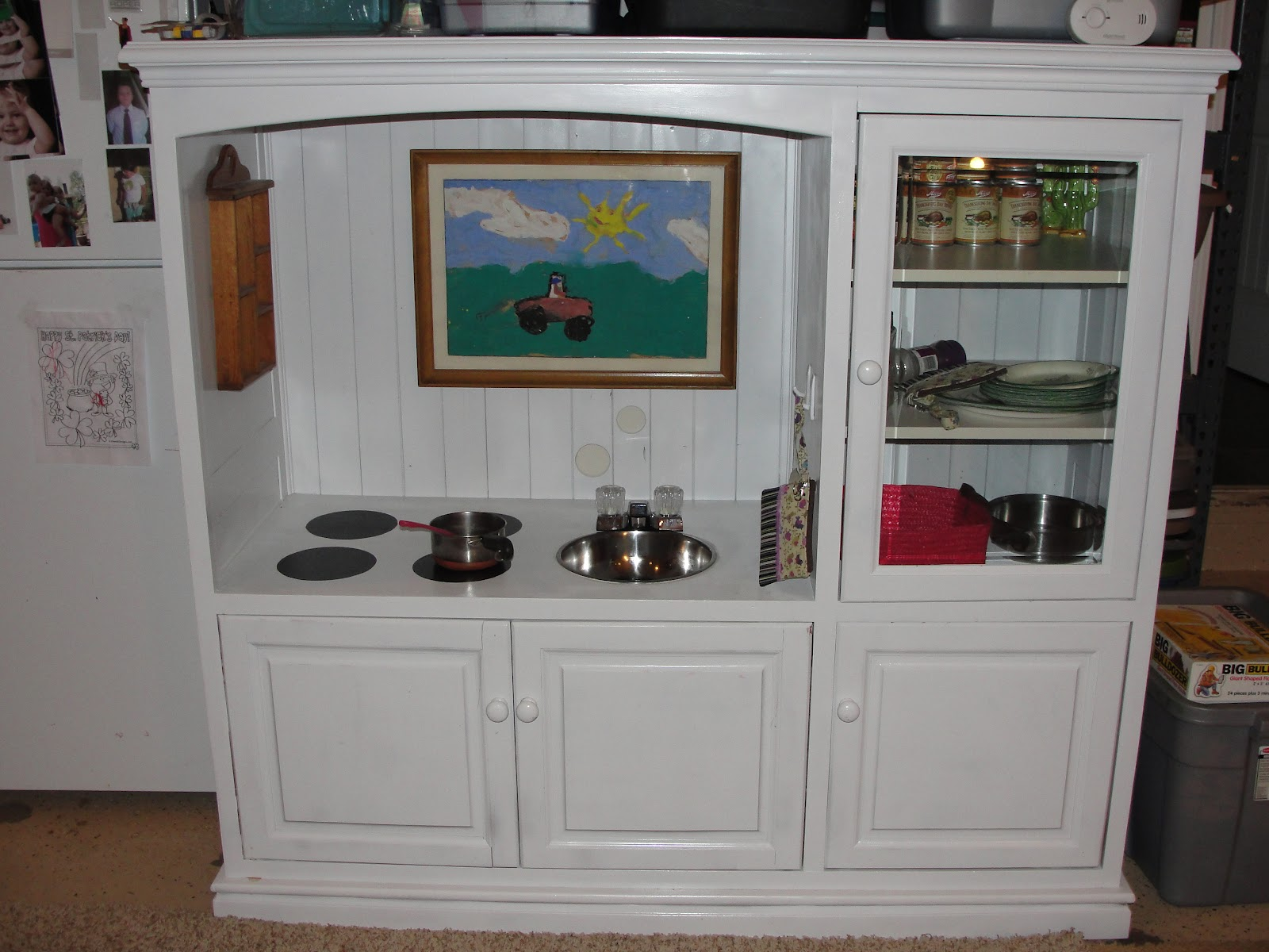 Recycled Smiles: Kids Play Kitchen Update