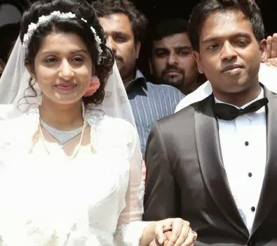 Meera Jasmine Marriage Photos