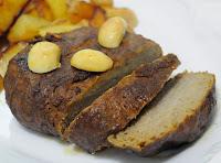Seitan ao Forno (vegana)